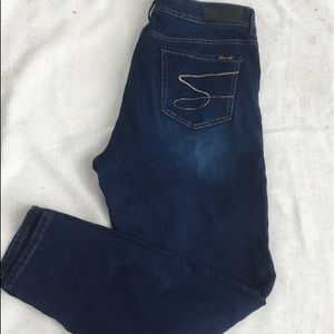 Seven  dark washed jeans size 16
